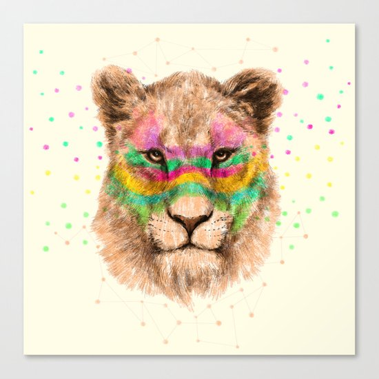 Lioness II Canvas Print