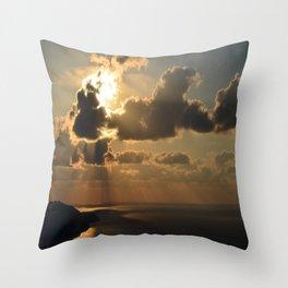 Darkling Sunset Throw Pillow
