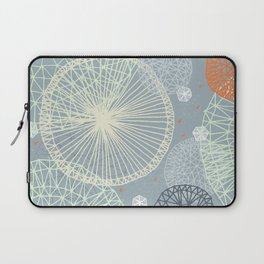 Geodesic by Friztin Laptop Sleeve