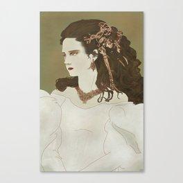 Ballroom Sarah Canvas Print