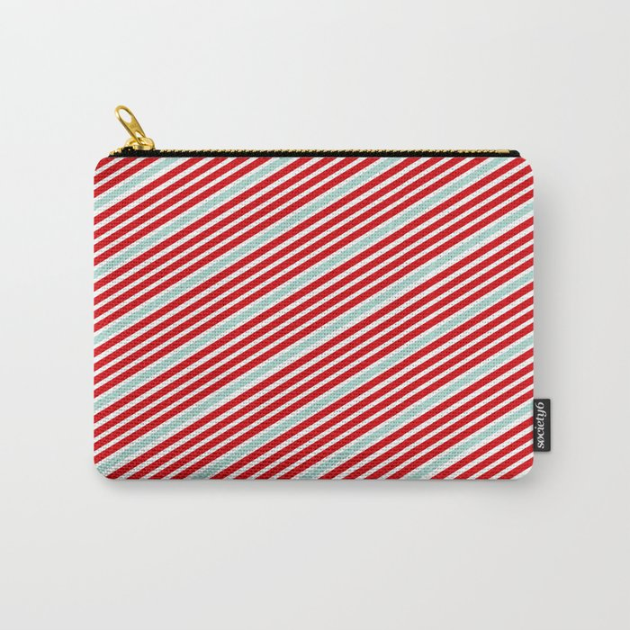 Carnival Stripes Carry-All Pouch