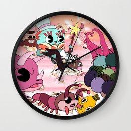 The Animals Fly Away Wall Clock