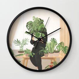 My Little Garden II Wall Clock