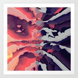 Battle of the Colors Art Print