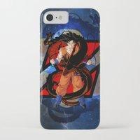 goku iPhone & iPod Cases featuring DBZ - Goku by Mr. Stonebanks