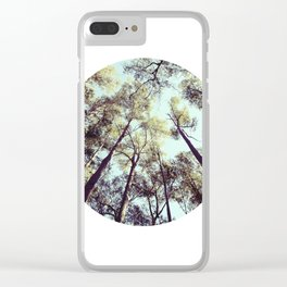 Looking Skyward Clear iPhone Case