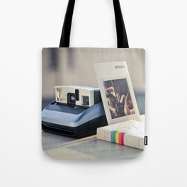 Never Ending Polaroid Tote Bag