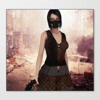 apocalypse now Canvas Prints featuring Apocalypse Now by miz-inthesky