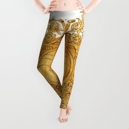 Golden Arms of the Chevalier d'Orléans Leggings