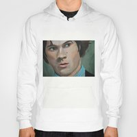 sam winchester Hoodies featuring Bedtime Stories (Sam Winchester) by Lauren Craig