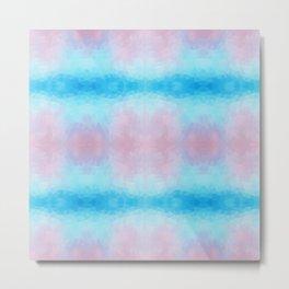 Mozaic design in soft pastel colors Metal Print