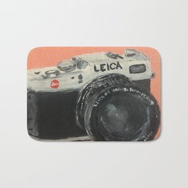 Leica Vintage Camera Bath Mat