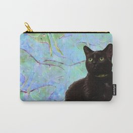 Luna Cat Carry-All Pouch