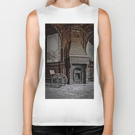 lost fireplace Biker Tank