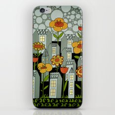 flower city iPhone & iPod Skin