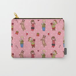Christmas piggy pattern Carry-All Pouch
