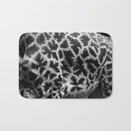 Giraffe Skin Bath Mat