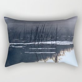 Mists on the Water Rectangular Pillow