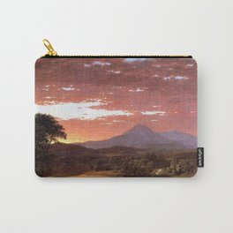 Mount Katahdin, Maine by Frederic Irwin Church Carry-All Pouch