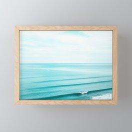 Minimal Beach Framed Mini Art Print