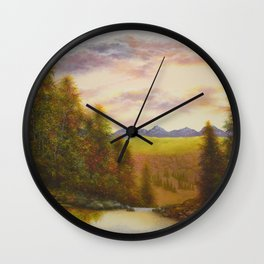 Above the Gorge Wall Clock