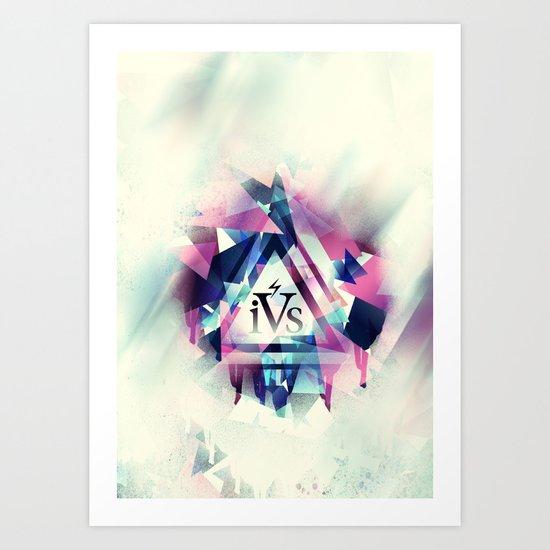 iPhone 4S Print - Cross Process Art Print