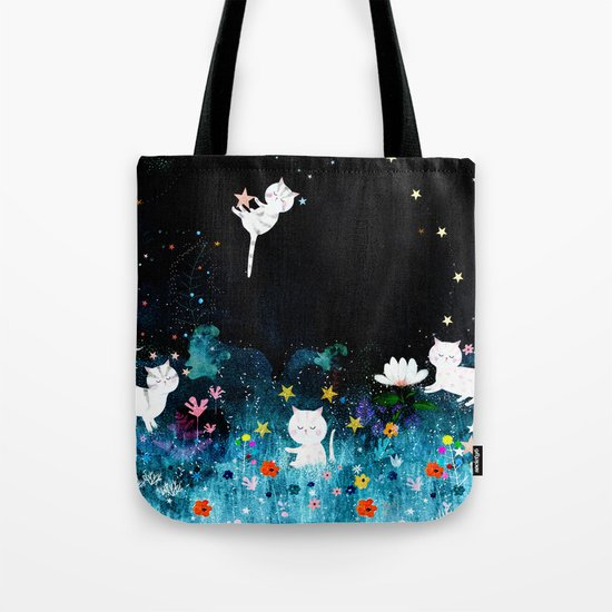 colourful night Tote Bag