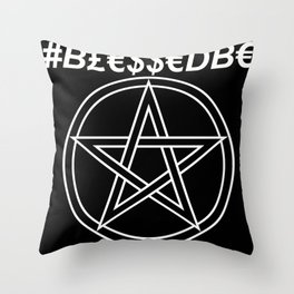 TRULY #BLESSEDBE Throw Pillow