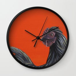 Third Born of Silkie Wall Clock