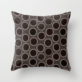 Cicle Sheet Pattern Throw Pillow