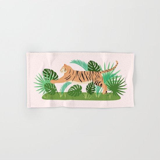 Jungle Cat Hand & Bath Towel