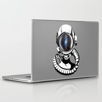 spaceman Laptop & iPad Skins featuring Spaceman by Clever Lion Creations