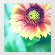 Fantasy Garden - Sunny Flower Canvas Print