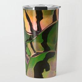 Vegetarian Zebra Travel Mug