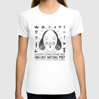 the national T-shirts featuring England's National Poet by Farnell