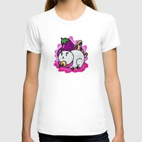 puppycat T-shirts featuring A Chubby Puppycat by Kristin Frenzel