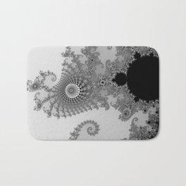 males mandelbrot abstract Bath Mat