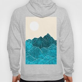 Mountains under the white sun Hoody
