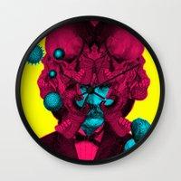 predator Wall Clocks featuring PREDATOR by DIVIDUS