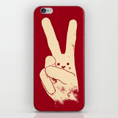 Love Peace and Carrots iPhone & iPod Skin