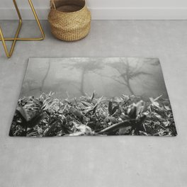 Foggy Foliage / Hallasan Rug