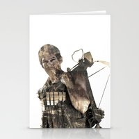 daryl Stationery Cards featuring Daryl TWD by Yousef