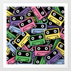 80's Kicks! Art Print