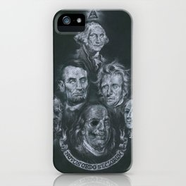 Dead Presidents iPhone Case