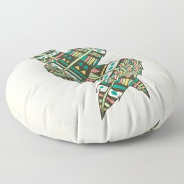 Soulmate Feathers Floor Pillow