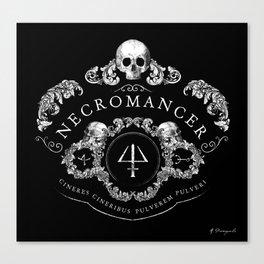 Necromancer Emblem Canvas Print