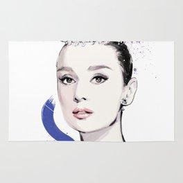 Vogue Fashion Illustration #17 Rug