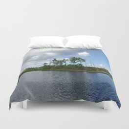 Florida Everglades Duvet Cover