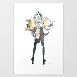 Stephanie Art Print