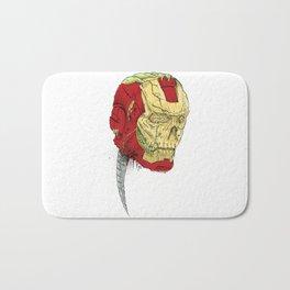 The Death of Iron Man Bath Mat
